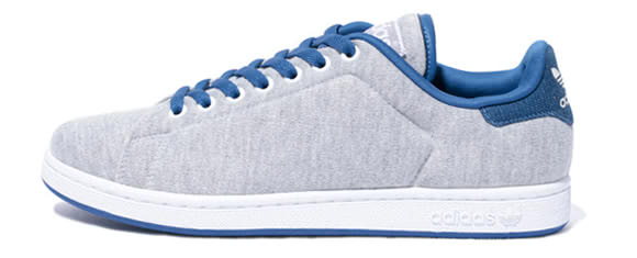 Adidas Originals Stan Smith 2 – Fleece Grey Blue  34a9b7335a37