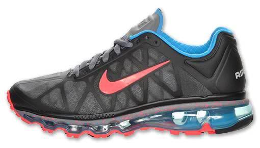 low priced a4517 da756 For The Ladies Nike Air Max 2011 BlackBlue Glow-Cool Grey-Solar Red   Runway Boyz