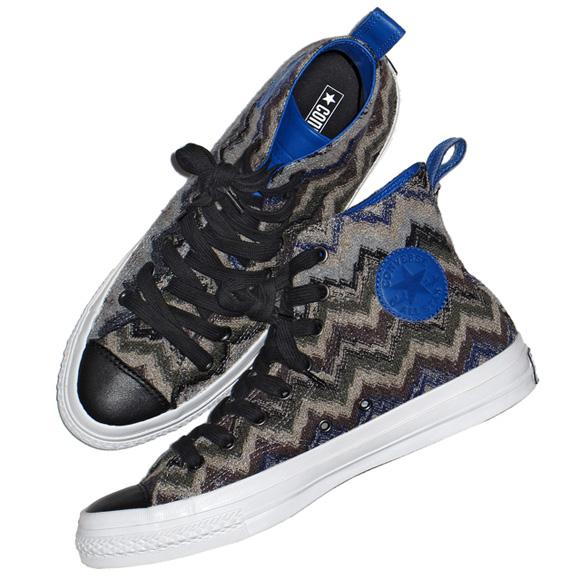 on sale 6c253 f5a9e Missoni x Converse Chuck Taylor High – Fall Winter 2011   Runway Boyz