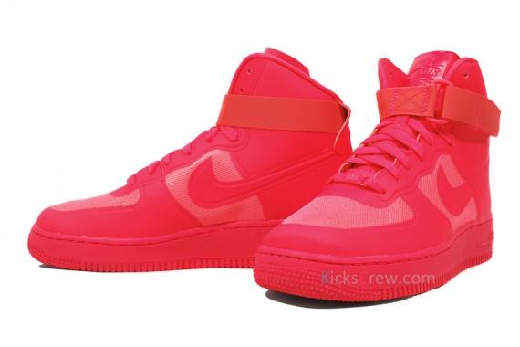 Nike Air Force 1 High Hyperfuse Premium – Solar Red | Runway