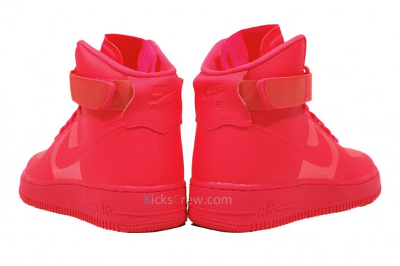 Nike Air Force 1 High Hyperfuse Premium – Solar Red | Runway