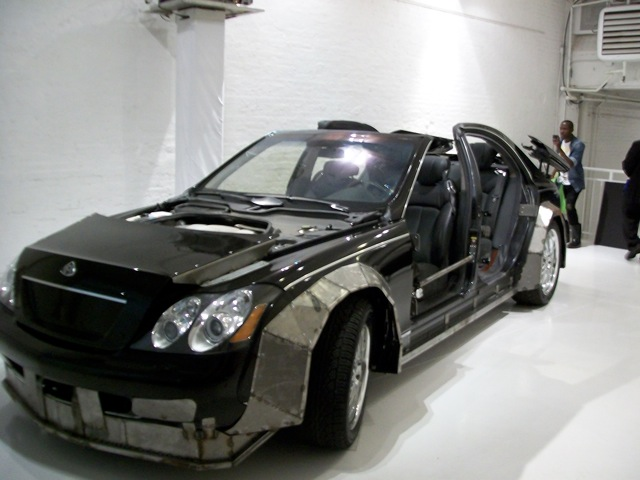 """Pictures of the Maybach in the Jay-z, Kanye """"OTIS"""" Video 