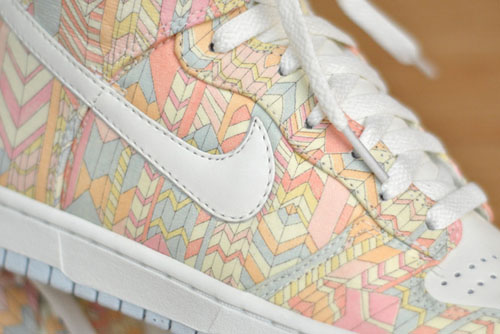 on sale f61f5 ff6ba ... Liberty London x Nike Dunk High Skinny Runway Boyz ...