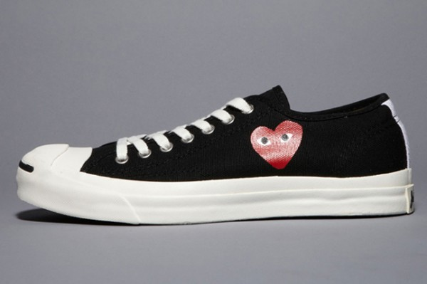 9b479148c15c05 Comme des Garcons PLAY x Converse Jack Purcell Available Now for  110 via   http   www.undefeated.com . Advertisements